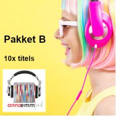 AEPod MP3 - Pakket B (sluit 10x titels in)