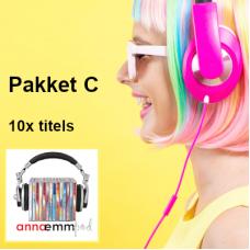 AEPod MP3 - Pakket C (sluit 10x titels in)