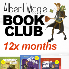 Albert Wiggle Book Club: 12 month subscription