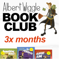 Albert Wiggle Book Club: 3 month subscription