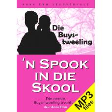 MP3 - 'n Spook in die skool (Buys-tweeling #1)