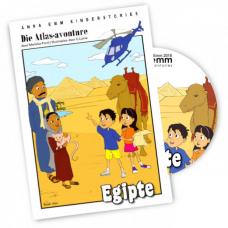 24-UUR AANBOD: Die Atlas-avonture: Egipte + CD