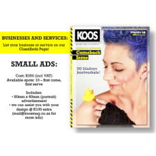 BUSINESSES AND SERVICES: SMALL ADS
