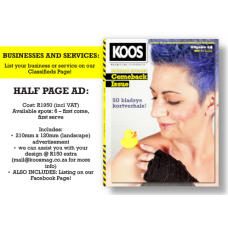 BUSINESSES AND SERVICES: HALF PAGE AD